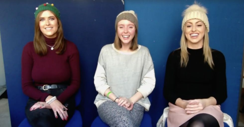 These Irish girls performed a sign-language Christmas classic to prove a powerful point.