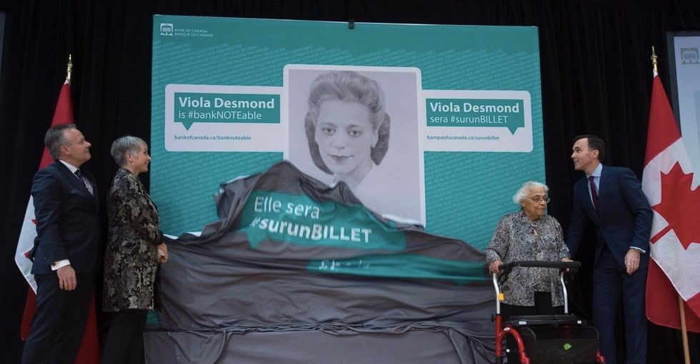 Before Rosa Parks, there was Viola Desmond. She's the new face of Canada's $10 bill.