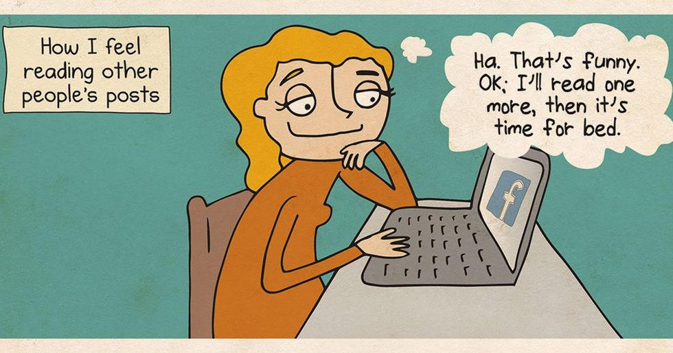 9 comics that hilariously show our love/hate relationship with the internet.