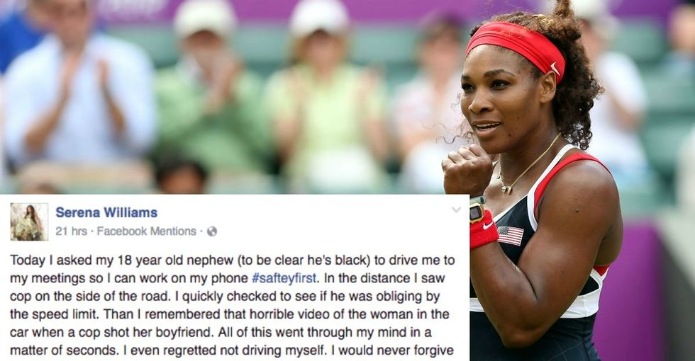 Serena Williams made a vital point about discrimination and the need to speak up.