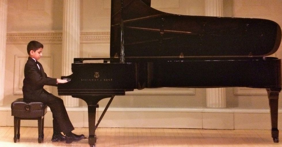 They say it takes practice to play Carnegie Hall. This 13-year-old has done it 3 times.