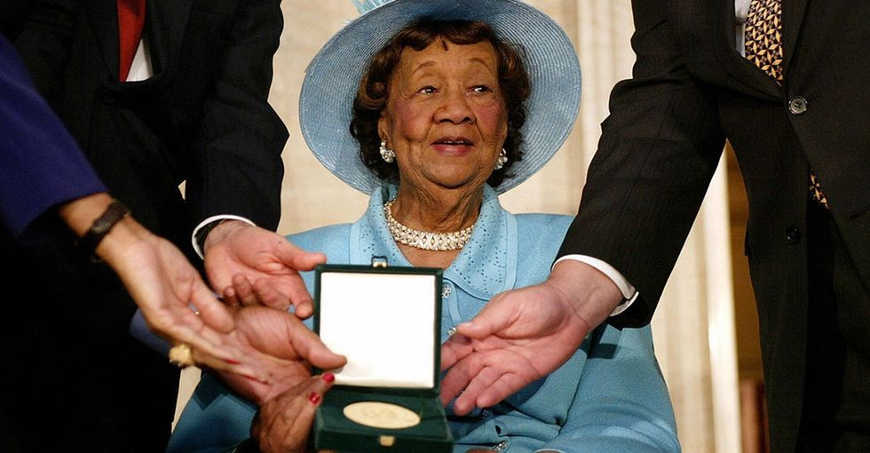 Why it's a huge deal that Dorothy Height's face will soon be on a postage stamp.