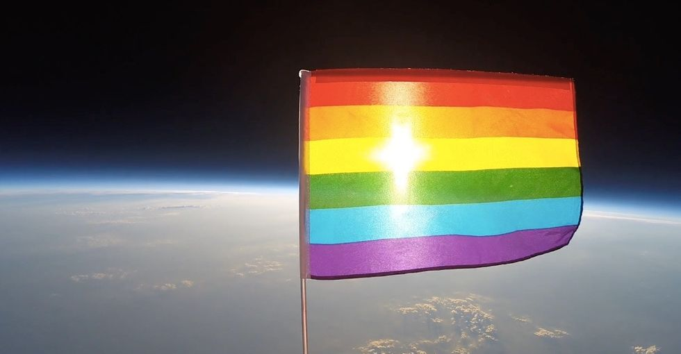 Watch how this group declared outer space LGBTQ-friendly.