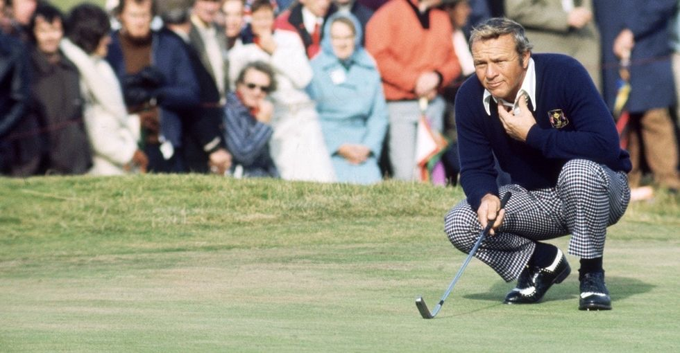 'King' of golf Arnold Palmer left behind a legacy of giving back.