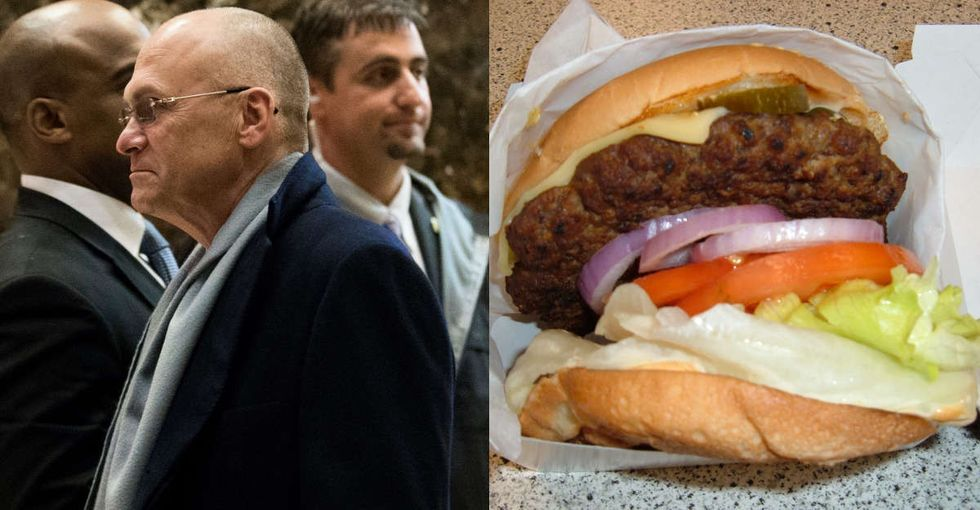 Why Donald Trump's pick for secretary of labor should probably stick to making burgers.