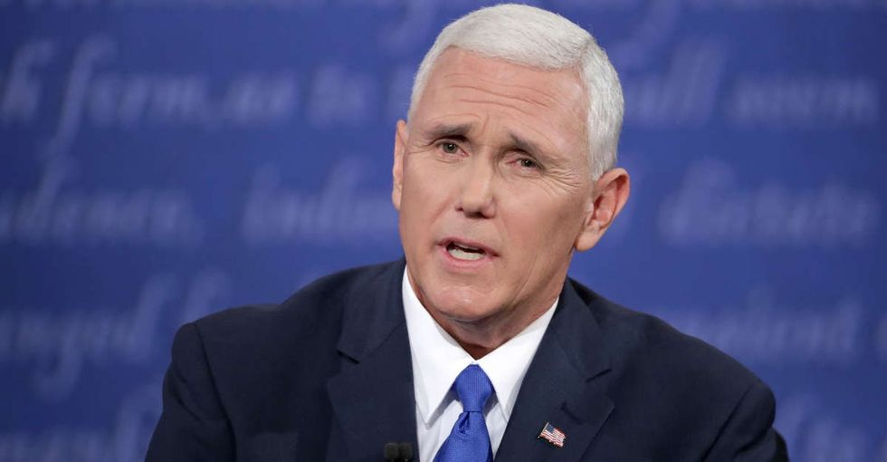 Latino Twitter had a pretty epic response to Mike Pence over 'that Mexican thing.'