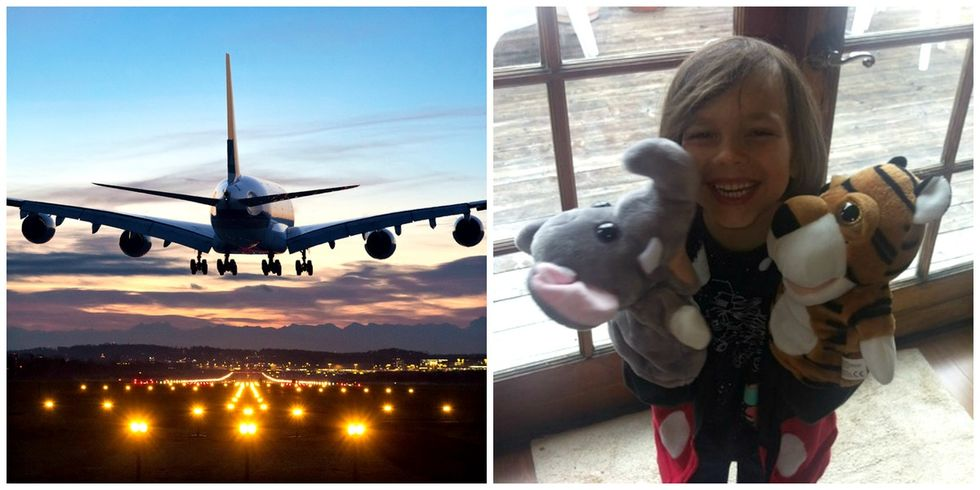 How a frequent flier's viral post saved Christmas for this father and son.