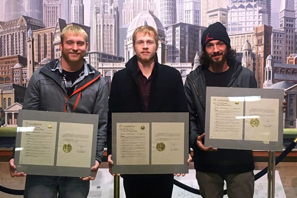 Chicago's 'hero movers' are a reminder of how hard leaving abusive relationships can be.