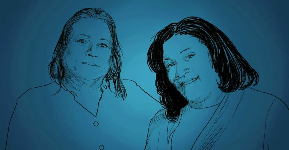 A trans mom tells her heart-wrenching life story to her daughter in this animated video.