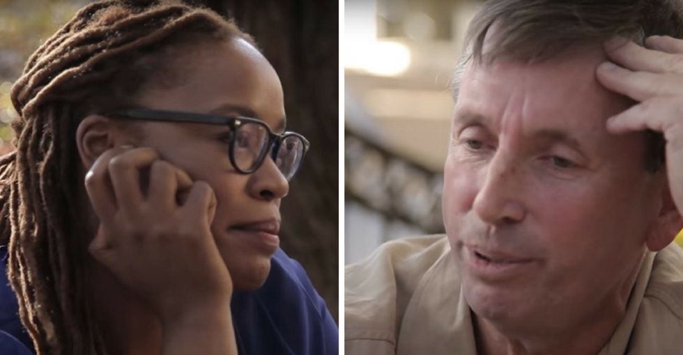 He asked how to confront his racial bias. She responded with a powerful gesture.