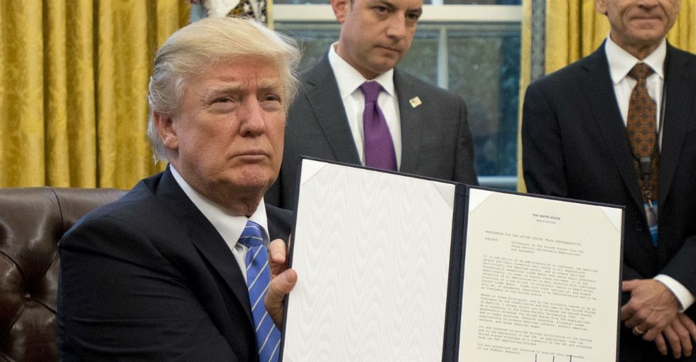 An unexpected, outrageous casualty of Trump's travel ban, and 6 ways to fight it.