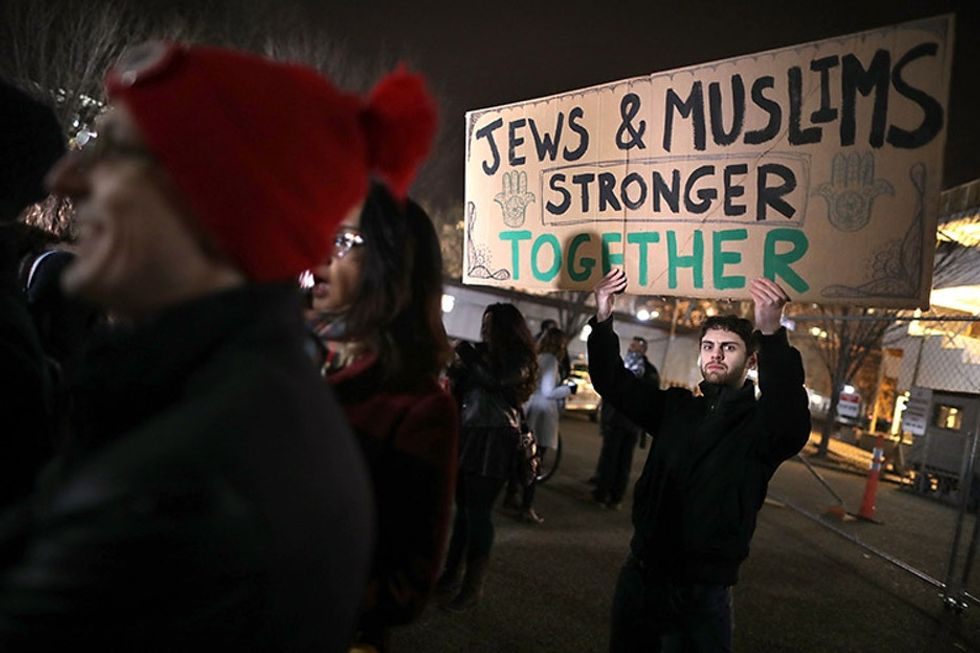 A prominent Muslim group just offered a reward to catch people targeting Jewish centers.