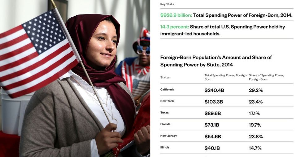 Immigrants make America great, and one organization has the data to prove it.