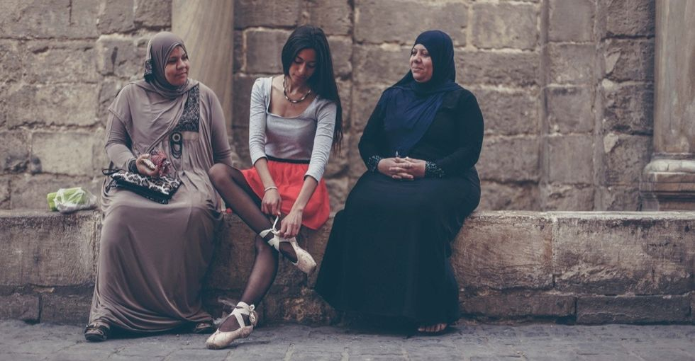Stunning images of ballerinas reclaiming the streets of Cairo.
