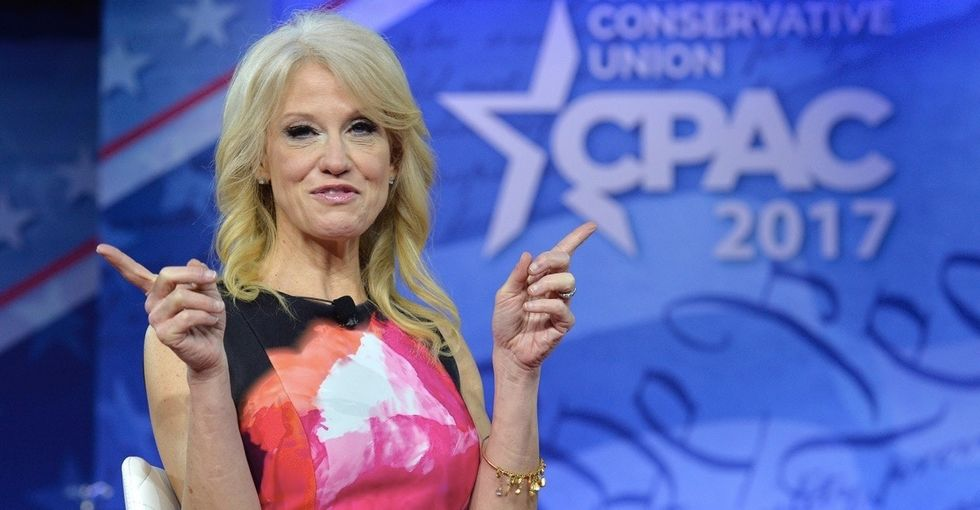 Kellyanne Conway brought 'alternative facts' about feminism to CPAC. Let's clear that up.