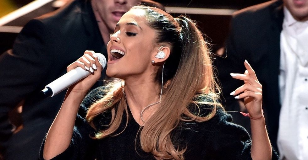 Ariana Grande shares a personal story about objectification that's all too relatable.