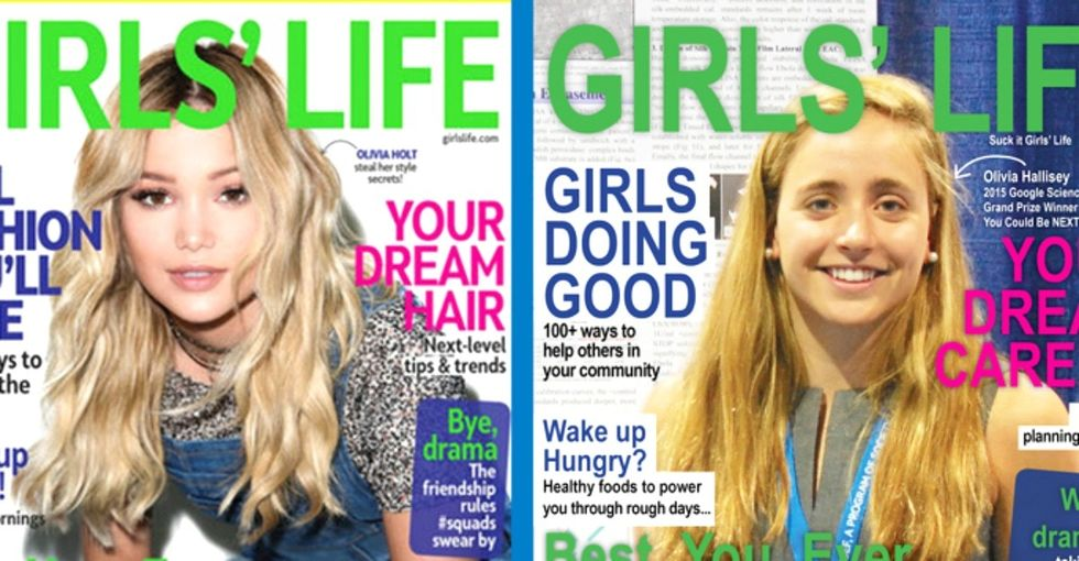 2 magazine covers sparked an important discussion about gender targeting in the media.