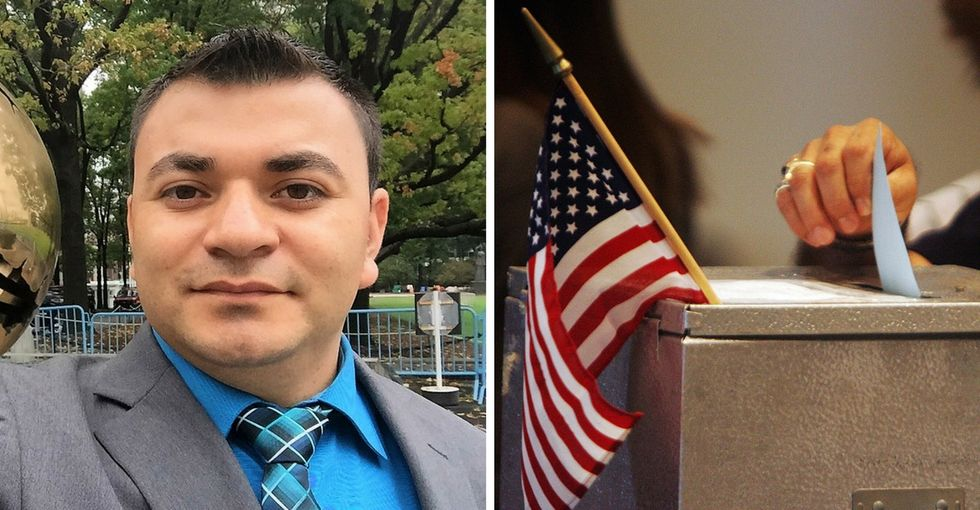 This immigrant and law student wants you to make your voice heard on Nov. 8.