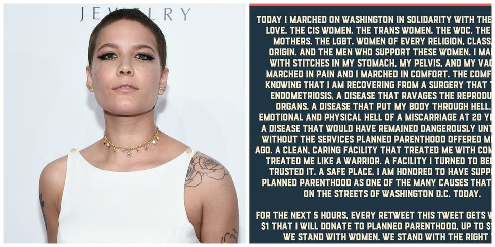 How one tweet by this pop star turned into a massive donation to Planned Parenthood.