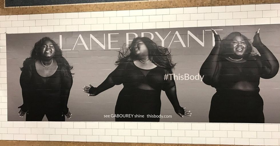Gabourey Sidibe's reaction to seeing herself on a subway poster is awesome.
