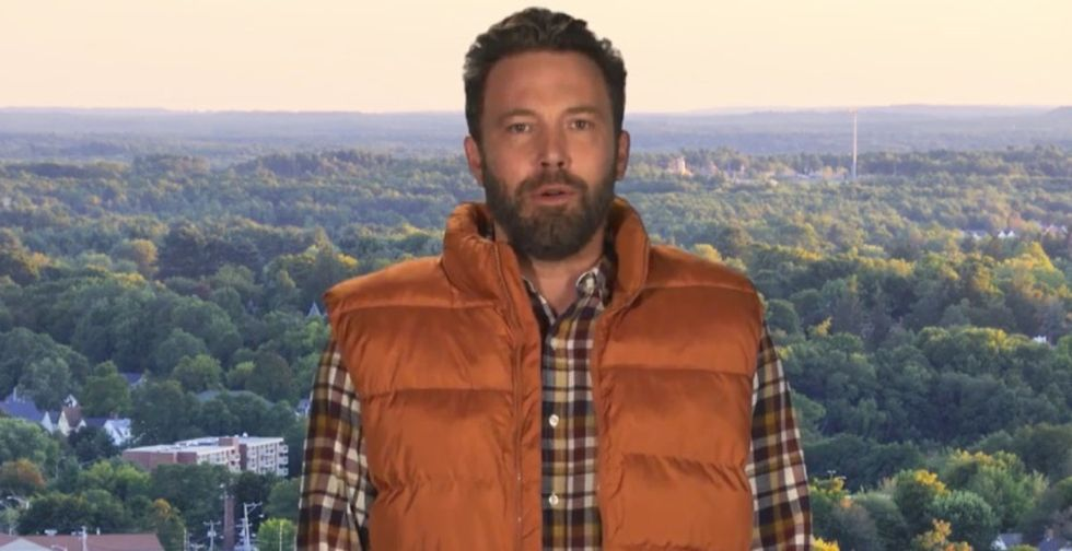 Ben Affleck stars in a hilarious PSA about voting in New Hampshire.