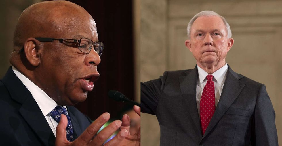John Lewis testified against Jeff Sessions because he knows exactly what's at stake.