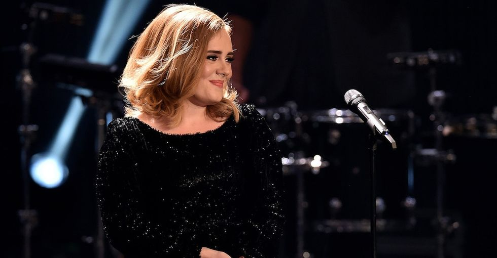 Adele's words about postpartum depression are profane, raw, and honest.