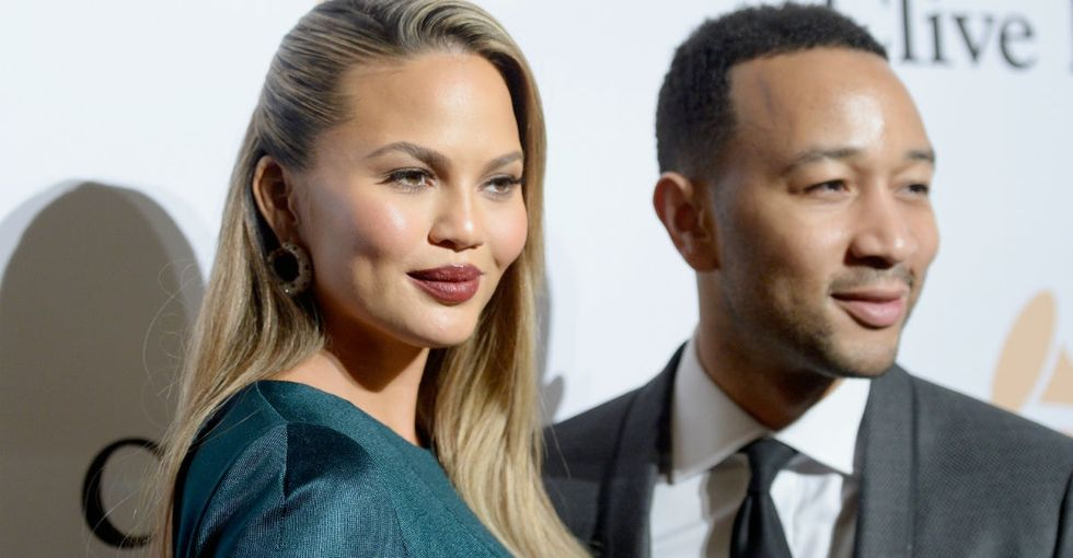 Postpartum depression affects many new moms. Chrissy Teigen is one of them.