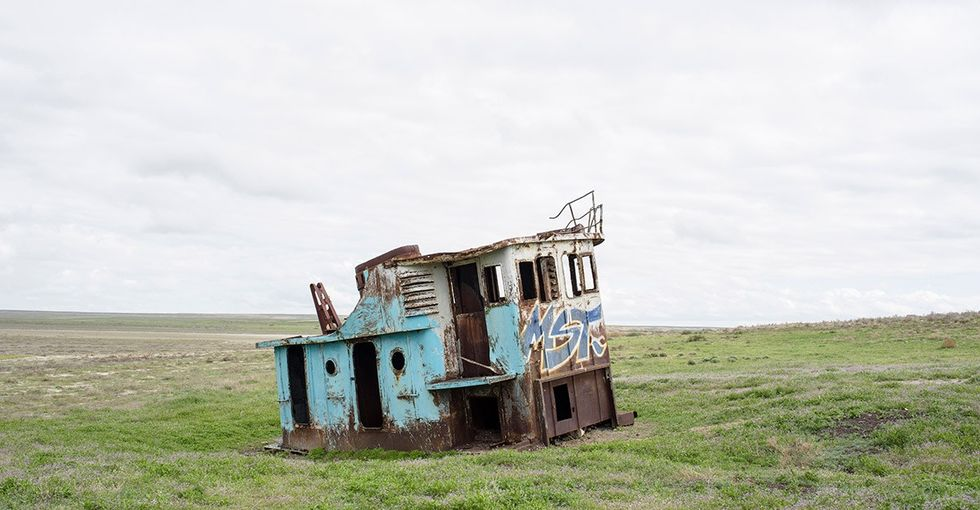 The Soviet Union literally destroyed the Aral Sea. This nation's going to bring it back.