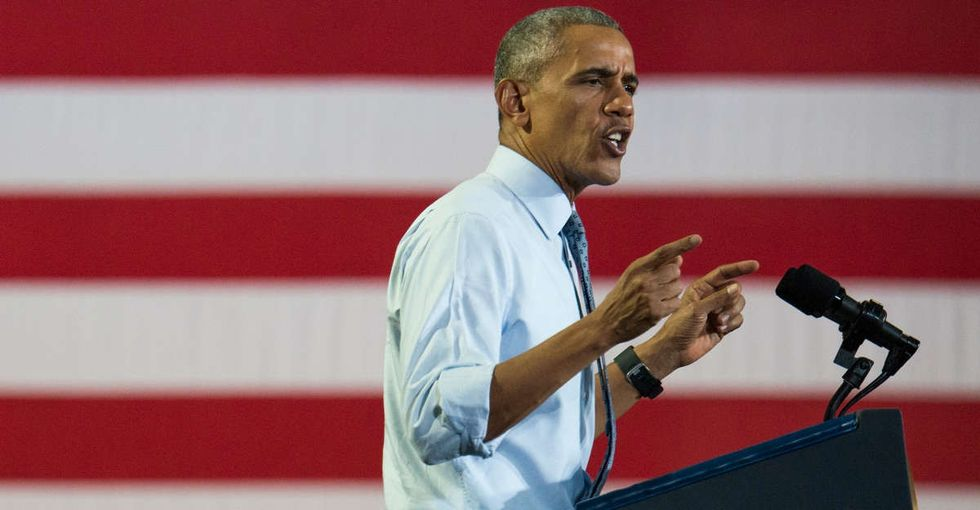 What's really motivating our dislike and distrust of Hillary? President Obama has an idea.