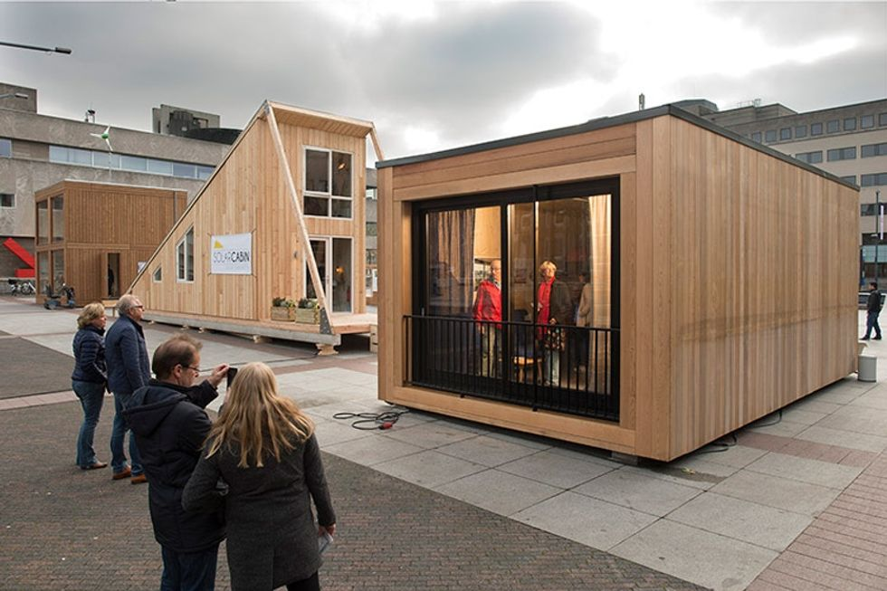 The Netherlands held a competition to design new refugee housing. These are the winners.