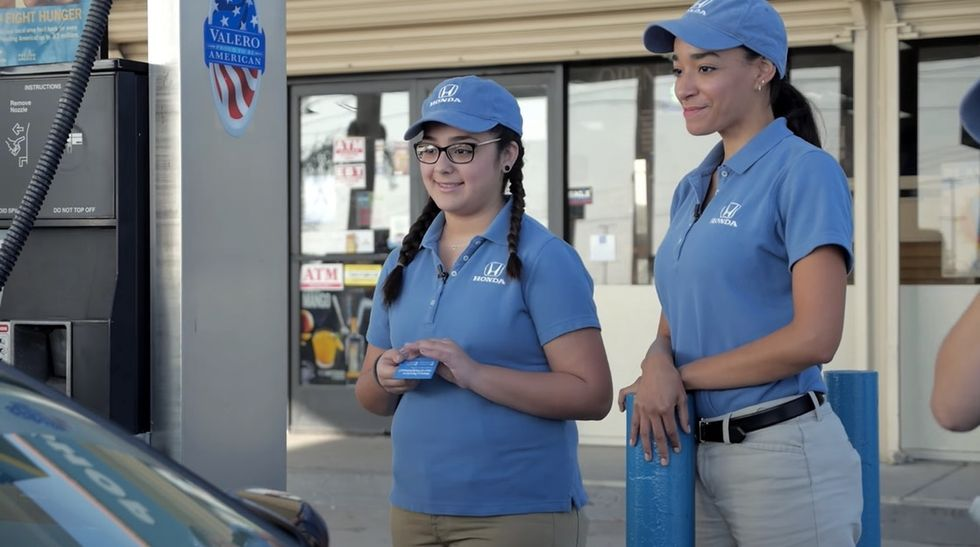 The moving story of this young lady's first job and her passion for paying it forward.