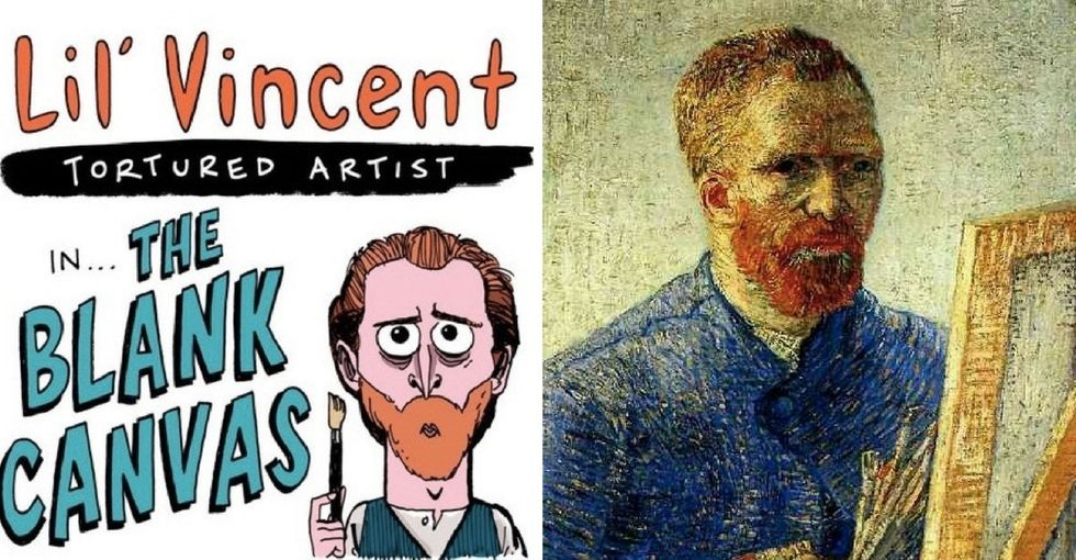 This colorful comic explores how Vincent van Gogh tackled one of his biggest fears.
