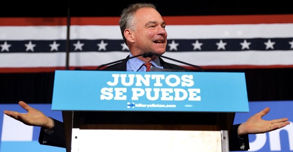 Why Tim Kaine delivering an entire speech in Spanish meant the world to me as a Latina.