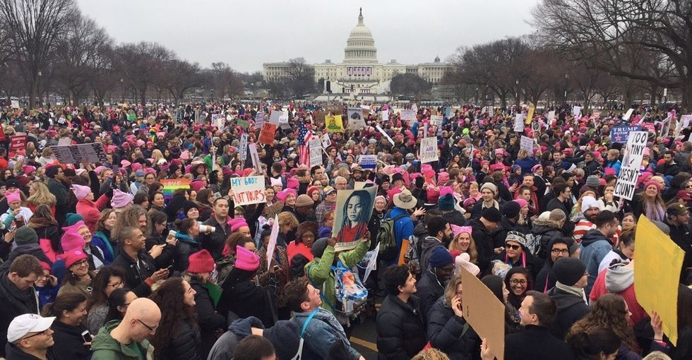 31 powerful reasons people are protesting at the Women's March.