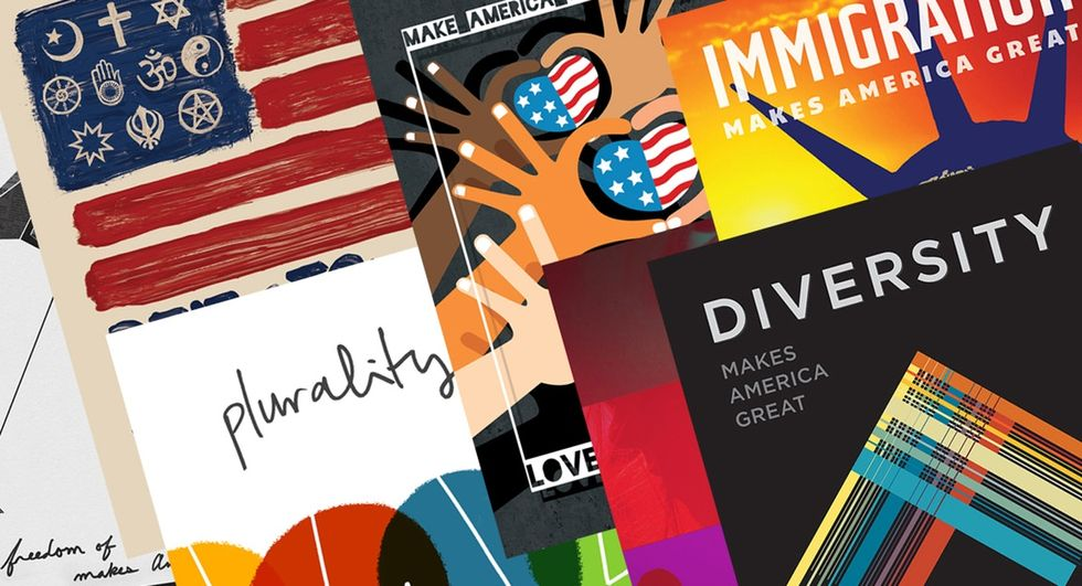 These visually stunning posters were designed to show what already makes America great.