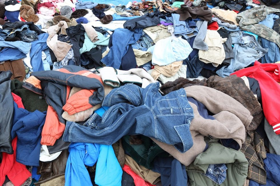 Why people keep doing the one thing they shouldn't with old clothes.