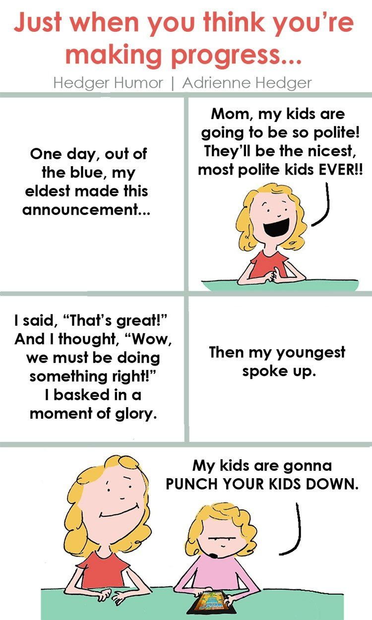 Have siblings? Raising siblings? These hilarious comics are