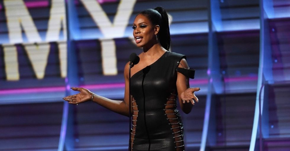 Who is Gavin Grimm and why did Laverne Cox tell Grammys viewers to google him?