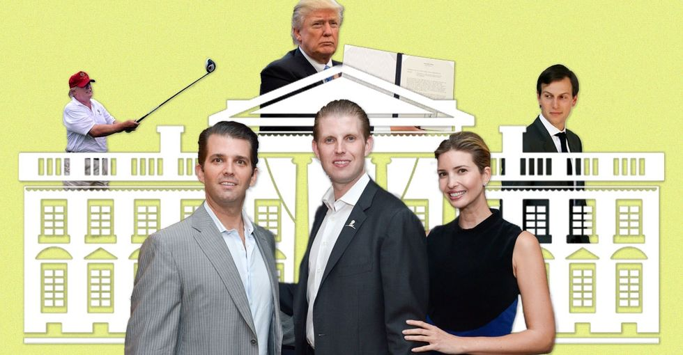 'The Trump Kids Go to Work with Dad: A White House Storybook.'