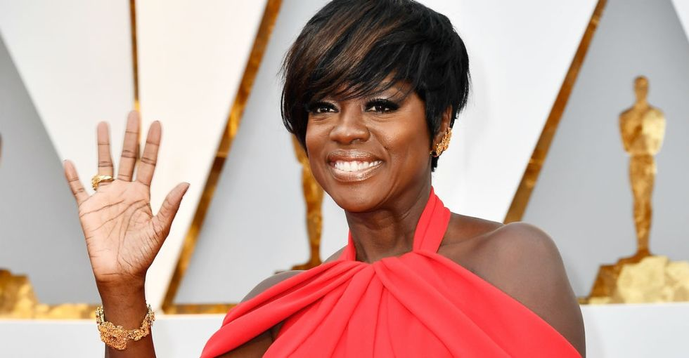 Viola Davis becomes the first black actor to win an Oscar, Emmy, and Tony for acting.