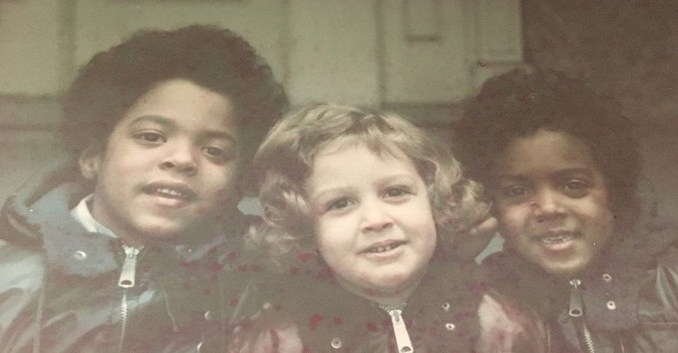 My white parents adopted African-American twins when I was young. This is our story.