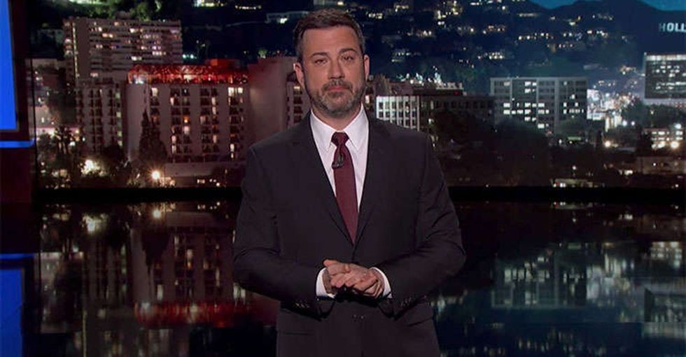 People with pre-existing conditions had an emotional response to Jimmy Kimmel's monologue.