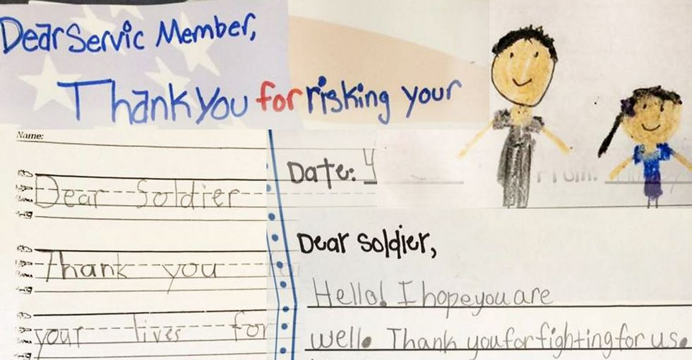 Read the surprising, hilarious, blunt, yet sweet letters kids write to the military.