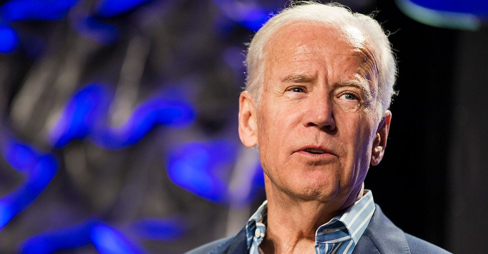 Joe Biden delivered a powerful speech about 'the only bipartisan thing left in America.'