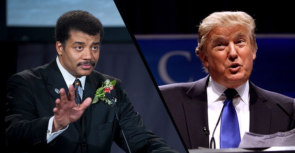 Neil deGrasse Tyson's rational advice for life under an irrational administration.