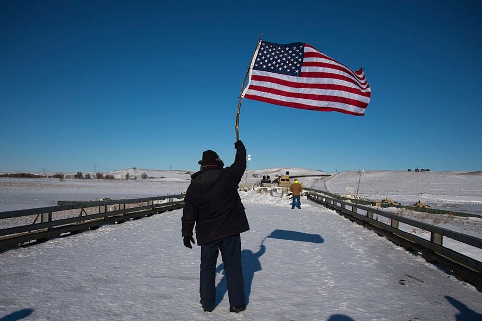 Meet the former Army officer who rallied thousands of veterans to Standing Rock.
