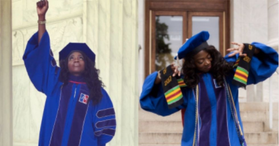 Black grads are celebrating their success with this empowering hashtag.