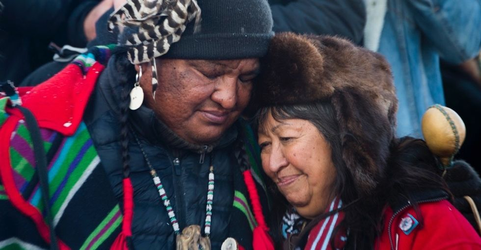 A huge win for the people protesting at Standing Rock — and for all of us.