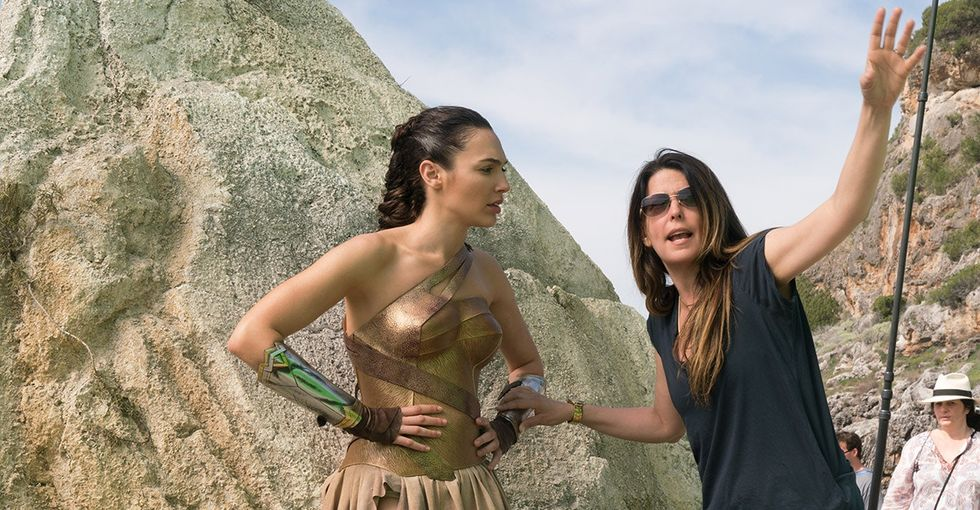 A website said having Patty Jenkins direct Wonder Woman was a risk. Twitter fired back.